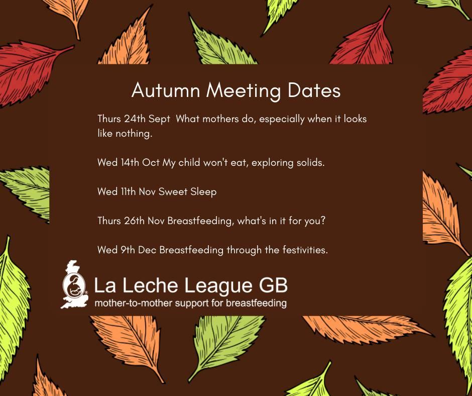 Autumn Meetings